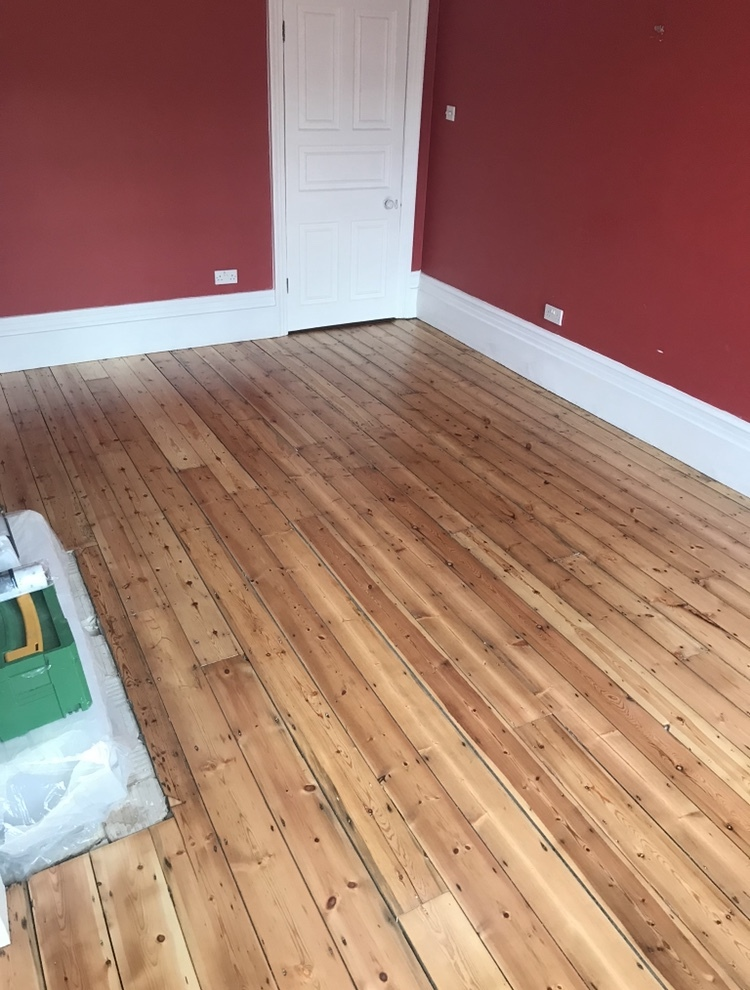 Sanding and Restoration of Old Original Floorboards